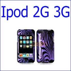 كفر iPod Touch 2G 3G خطوط أزرق أسود