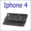 لوحة المفاتيح بلوتوث أسود ايفون 4