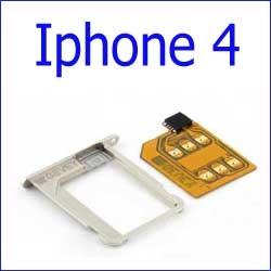 شريحة لفتح Turbo Sim Card For Unlock iPhone 4