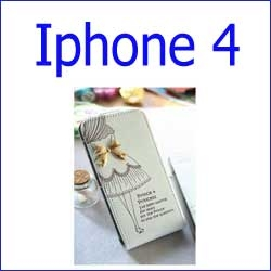 كفر+واير مجانا Princess Flip  Gold Vip 5 iphone 4