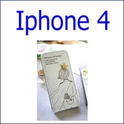 كفر prince Flip Gold Vip 1  iphone 4