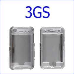 كفر 3gs شفاف قوي  + ستيكر حماية