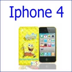 كفر سبونج بوب iphone 4