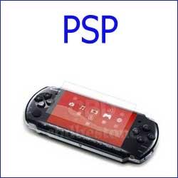 ستيكر حماية شفاف PSP
