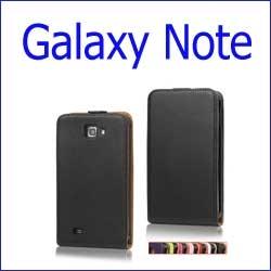 كفر جلد أسود  - Galaxy Note