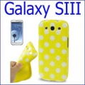 كفر مطاط منقط Galaxy S3