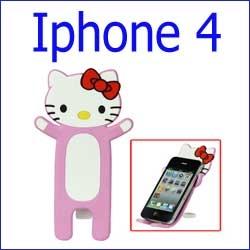 حامل المطاط لأجهزة المحمول Iphone 4