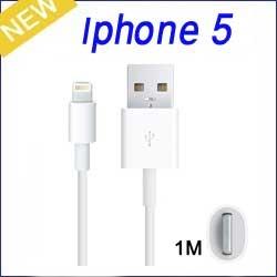 واير طولة 1مثر - iphone 5