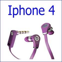 سماعة أذن + محادثة Iphone 4 - beats