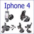 شاحن مع قاعدة سيارة Iphone 4
