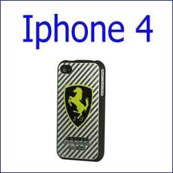 كفر فراري كاربون فايبر Iphone 4