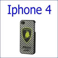 كفر لمبرجيني كاربون فايبر Iphone 4