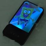 كفر سبونج بوب  وامض iphone 4