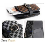 كفر  Black Guns Pouch Gold Vip 7 iphone 4